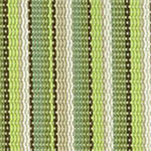 B138 Delray Stripe Kiwi Grade B Fabric