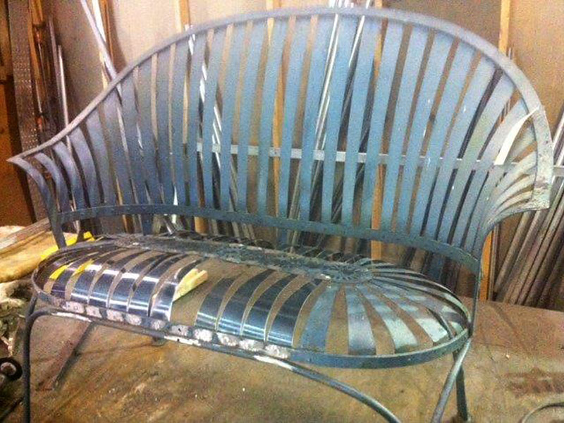 Special Outdoor Furniture Restoration Projects