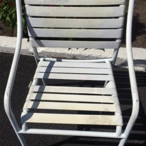 Strap Chair Before Restoration