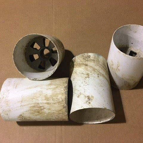 Golf Cups Before Restoration