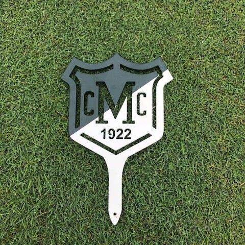 Golf Tee Markers Before Restoration